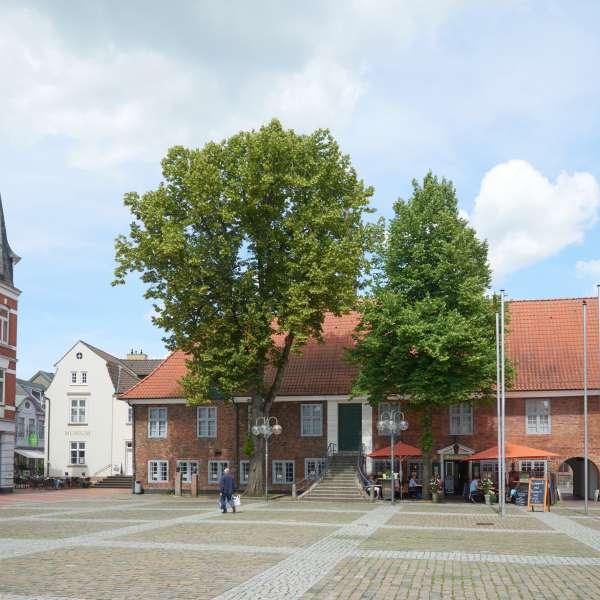 Bymuseet i Egernførde set udefra