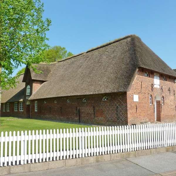 Den historiske bygning der huser Friesisches Museum i Nibøl