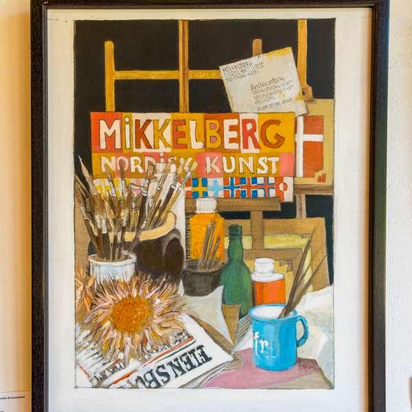 Endnu et maleri på Mikkelberg - Nordisk center for kunst og cricket i Hatsted
