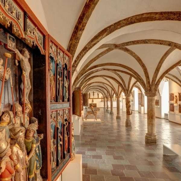 Gottorp Slot som huser Museet for Kunst og Kulturhistorie i Slesvig