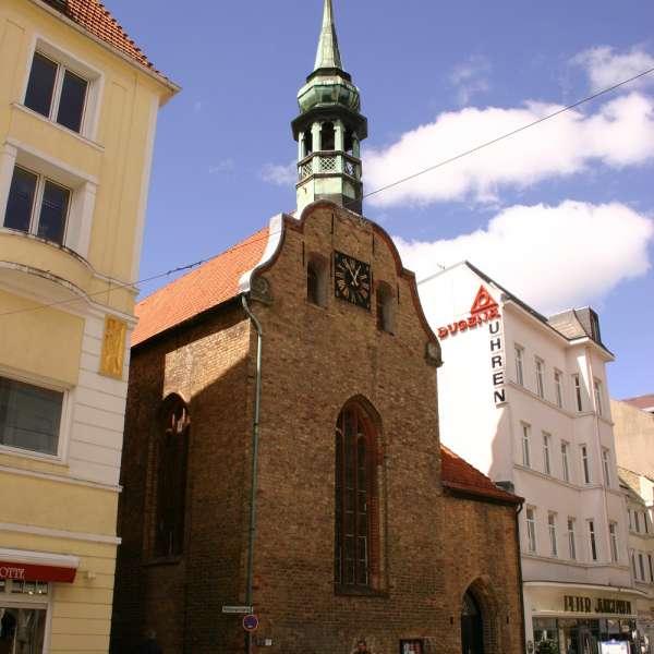 Helligåndskirken i Flensborg set udefra