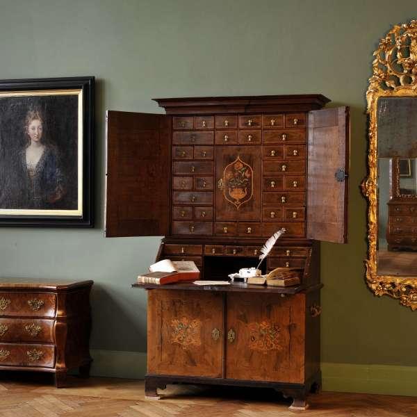 Historiske møbler fra renæssancen på Museumsberg i Flensborg