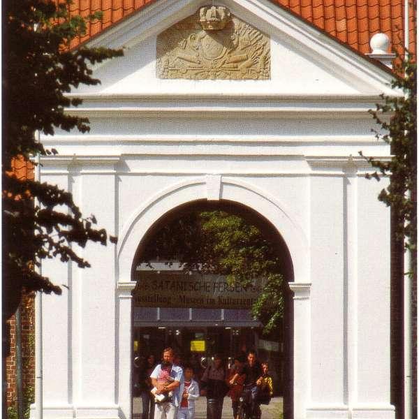 Indgangsportal til Museen im Kulturzentrum i Rendsborg