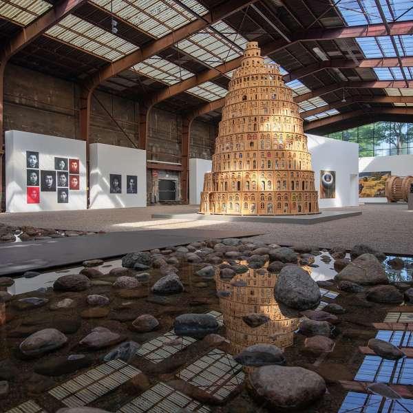 Installationer og andre værker på kunstudstillingen NordArt i Bydelstorp