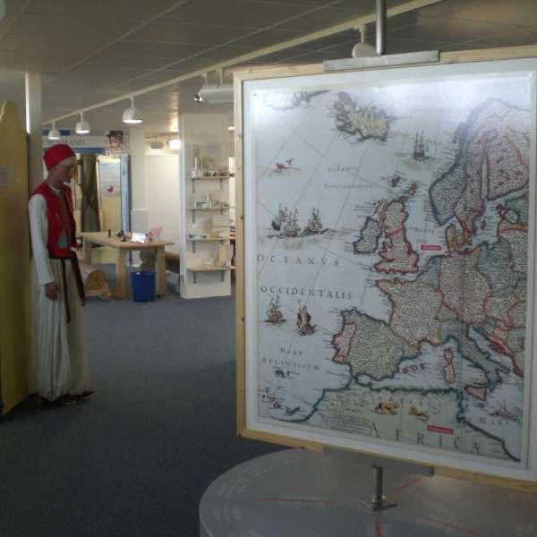 Maritur-udstillingen om øens og regionens historie på Naturzentrum Amrum