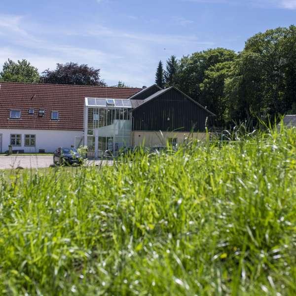 Museumsbygningen på Danevirke Museum i Danevirke ved Slesvig