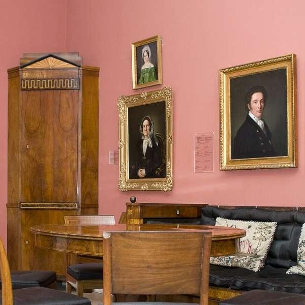 Portrætter og antikviteter på Museet for Kunst- og Kulturhistorie på Gottorp Slot i Slesvig