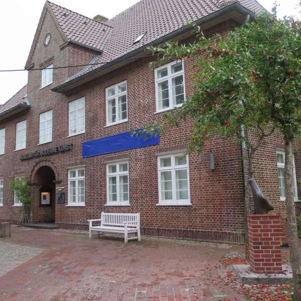 Richard Haizmann Museum i Nibøl set udefra