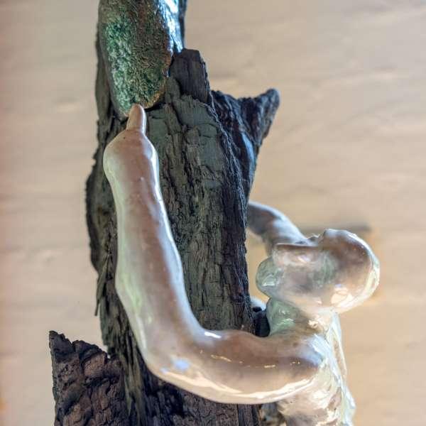 Skulptur på Mikkelberg - Nordisk center for kunst og cricket i Hatsted
