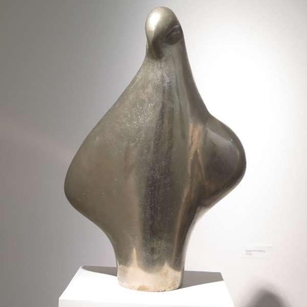 Skulptur på Richard Haizmann Museum i Nibøl