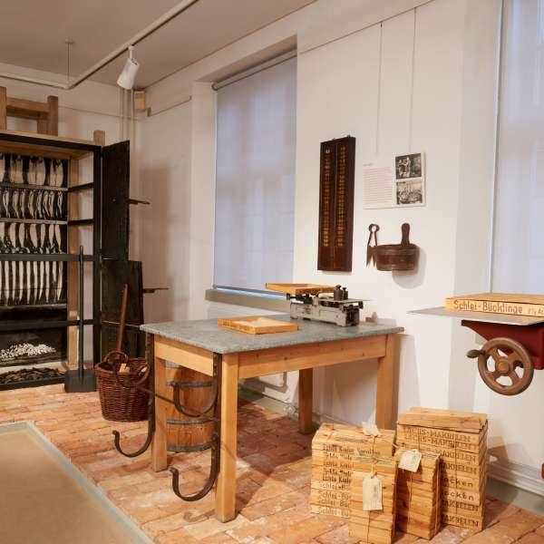 Udstilling om hvordan man laver guld af sølv på bymuseet i Egernførde