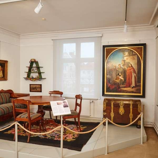 Udstilling om kunstnerfamilien Baasch på bymuseet i Egernførde