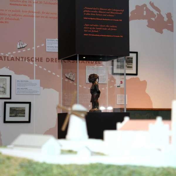 Udstilling om trekantshandelen på Flensburger Schifffahrtsmuseum