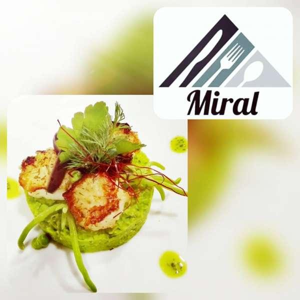 Jakobs-musling på restauranten Miral i Egernførde
