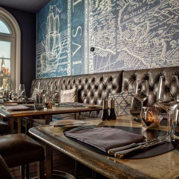 Restauranten Columbus Genusswirtschaft på Hotel Hafen Flensburg
