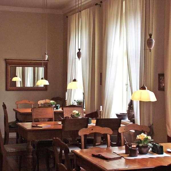 Skænkestuen på Café Kranz i Nisvrå ved Gelting