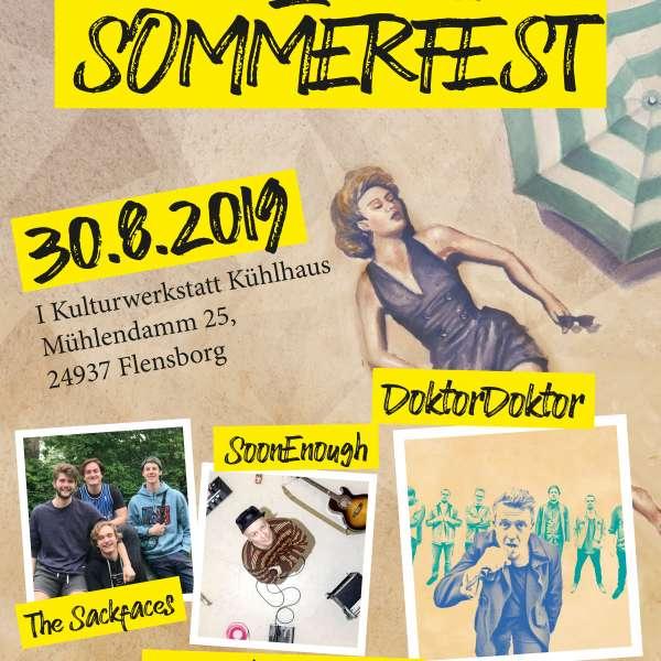 Plakat til Sydslesvigs Sommerfest 2019